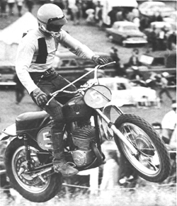 Roger De Coster on his factory CZ before the Suzuki era