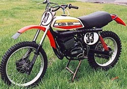 Can-Am 250. Probably a Factory Works 250cc -75