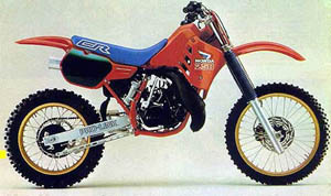 1986 Honda CR 250, one of the best bikes ever
