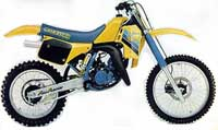 1986 Suzuki RM125 one of the most successful 125cc during the 80's